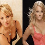 Kaley Cuoco Plastic Surgery Breast Implant Before and After
