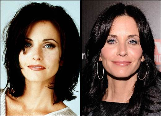 Courteney Cox Plastic Surgery Courteney Cox Plastic Surgery Before and After Pictures
