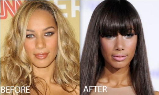 Leona Lewis Nose Job Leona Lewis Nose Job Before and After   Rumor