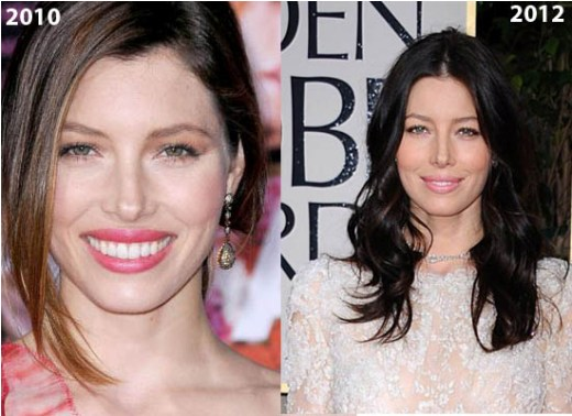 Jessica Biel Nose Job Jessica Biel Nose Job Before and After   Rumor