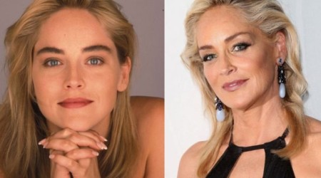 Sharon Stone Plastic Surgery Before and After 450x250 Sharon Stone Talks about Plastic Surgery