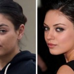 Seeing Mila Kunis without Makeup. Is it possible?