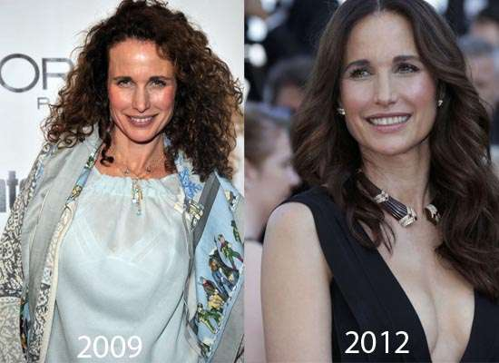 Andie MacDowell Plastic Surgery Did Andie MacDowell Have Plastic Surgery?