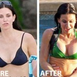 Courteney Cox Plastic Surgery Before and After Pictures