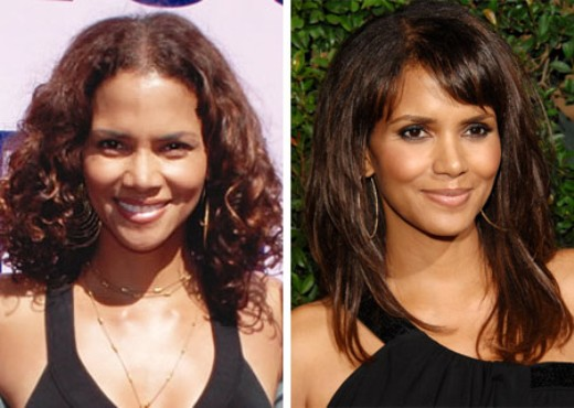 Halle Berry Plastic Surgery Halle Berry Plastic Surgery Before and After Pictures