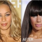 Leona Lewis Nose Job 150x150 Jessica Biel Nose Job Before and After   Rumor
