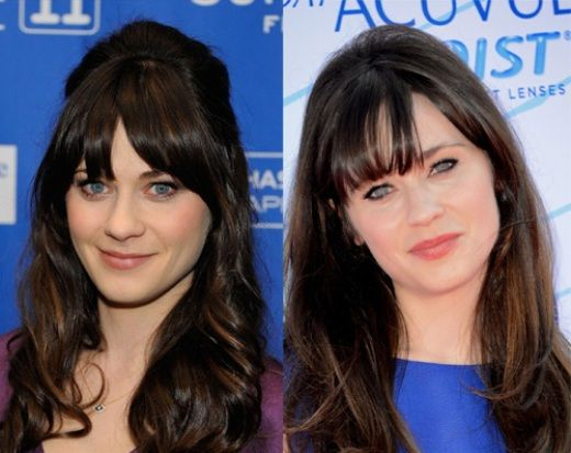 Zooey Deschanel Plastic Surgery Rumors Before And After