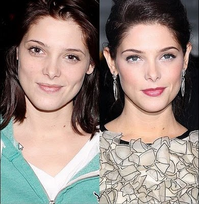 ashley greene before after Ashley Greene Nose Job Before and After