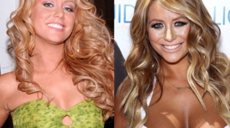 Aubrey O Day Plastic Surgery Before and After 450x250 Is Aubrey O'Day Plastic Surgery's Denial Able to Cover What Have Changed?