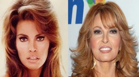 Raquel Welch Plastic Surgery Before and After 450x250 Did Raquel Welch Take a Plastic Surgery?