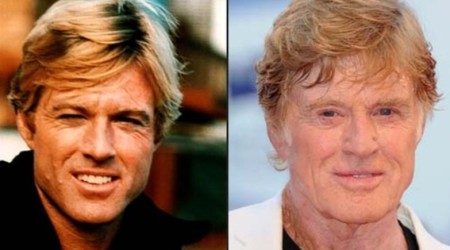 Robert Redford Plastic Surgery Before and After 450x250 No Plastic Surgery for Robert Redford