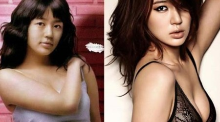 Yoon Eun Hye Plastic Surgery Before and After 450x250 Do You Believe Yoon Eun Hye's has Taken Plastic Surgery?